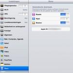 Je iPhone apps automatisch op je iPad