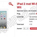 Kruidvat; witte iPad 2 16gb - in aanbieding