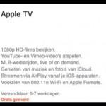 MijnTweet; nieuwe Apple TV nu ook te bestellen