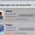 AppStore met 'nieuwe iPad' Apps