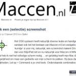 MijniPad.net heeft een MacBroertje; Maccen.nl