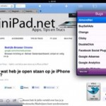 Cookie browser, bekijk MijniPad.net's cookies