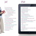 Verschil tussen Juf en iPad
