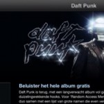iTunes; beluister alvast de nieuwe Daft Punk