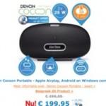 Leuke AirPlay speaker van Denon in aanbieding