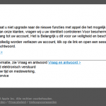Frauduleuze Phishing emails van 'Apple'