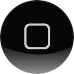 Iphone home button hi MijniPadNet
