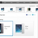 Originele iPad Mini al wel in Spacegrijs verkrijgbaar!