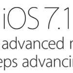 iOS7.1 is uit – een minimale update……