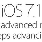 iOS7.1 is uit - een minimale update......